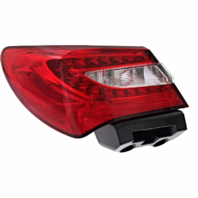 Fits 11-14 Chrysler 200 Sedan Left Driver Tail Lamp Assembly Quarter Mounted