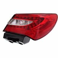 Fits 11-14 Chrysler 200 Sedan Right Passenger Tail Lamp Assembly Quarter Mounted