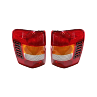 Fits 02-04 Jeep Grand Cherokee Left & Right Set Tail Lamp Assemblies From 11/01 w/Circuit Board
