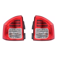 Fits 11-13 Jeep Compass Left & Right Set Tail Lamp Assemblies