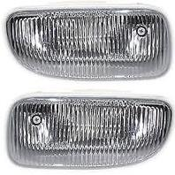 Fits 99-03 Jeep Grand Cherokee Left & Right Fog Lamp Assemblies w/o bracket (pair)