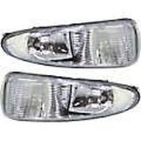 01-03 Chrysler Voyager; 01-04 Chrysler Town & Country L&R Fog Lamp Assys (pair)