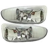 00 Dodge Neon Left & Right Fog Lamp Units (pair)