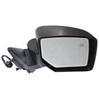 Fits 07-14 Jeep Patriot Right Passenger Mirror Power Textured Black With Heat