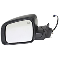 For 11-18 JP Grand Cherokee Left Driver Mirror Assembly Power Heated Manual Fold