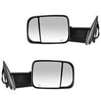 Fits 09-12 Ram Pickup Left & Right Set Pwr Mirror Heat,Sig,Puddle Light,Man Fold