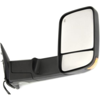 Fits 09-12 Ram Right Pass Power Mirror Tow Heat, Signal, Puddle Lamp, Man Fold