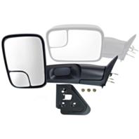 Fits 94-01 Dodge Pickup 1500 94-02 2500/3500 Lt Driver Manual Mirror Flip-Up Tow