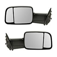 Fits 09-10 Ddge Pickup 1500, 10 2500 3500, 11-12 Ram Left/Rght Set Mirror ManTow