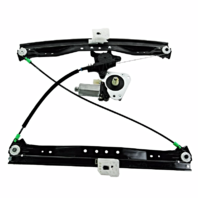 Fits 08-17 Grand Caravan 08-16 Town & Country 12-15 Tradesman Power Window Regulator with Motor Front Right Passenger with 2 Pin Connector