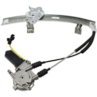 Fits 91-96 Dg Stealth, Mits 3000gt to 2/96 Power Window Regulator with Motor Front Right Passenger