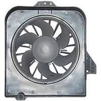 Fits 01-05 / Van Radiator Fan Assy Left Drivers Side