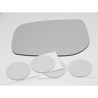 Fits 95-02 Range Rover, Left Driver Mirror Glass Lens with Adhesive, USA, Without Backing Plate