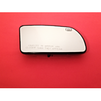 Fits Nissan Altima Right Pass Heated Mirror Glass w/ Rear Holder w/ Foldaway Type