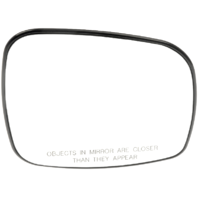 Fits 08-18 Grand Caravan, Town & Country, VW Routan Right Pass Mirror Glass Heated w/ Rear Holder