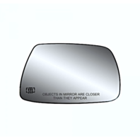 Fits 05-10 Grand Cherokee Right Pass Mirror Glass Heated w/Rear Back Plate