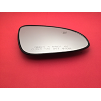 Fits 14-18 Corolla Right Pass Heated Convex Mirror Glass Lens w/ Rear Holder