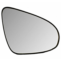 Right Passenger Convex Mirror Glass & Rear Backing Plate for 12-14 Toy Camry