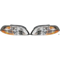 Fits 99-03  Windstar Left & Right Headlamp Assemblies (pair)