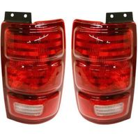 Fits 97-02 Ford Expedition Left & Right Set Tail Lamp Unit Assemblies