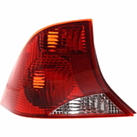 Fits 00-03  FOCUS Sedan Tail Lamp / Light Left Driver With Red Housing