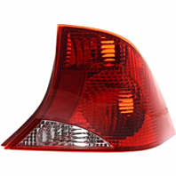 Fits 00-03  FOCUS Sedan Tail Lamp / Light Right Passenger With Red Housing