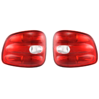 Fits 97-00 FD F150 Flairside Tail Lamp / Light Right & Left Set TO 2/11/00
