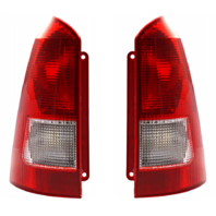 Fits 00-07 FD FOCUS Wagon Tail Lamp / Light Right & Left Set With Red Housing