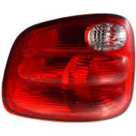 Fits 00-03 Ford F150 Flareside / 04 Ford F150 Heritage Flareside / 01-04 Ford F150 Crew Cab Left Driver Tail Lamp Unit Assembly w/Red Lens