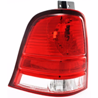 Fits 04-07 FD FREESTAR Tail Lamp / Light Left Driver Lens and Housing Only