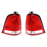 Fits 04-07 FD FREESTAR Tail Lamp / Light Right & Left Set Lens and Housing Only