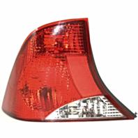 Fits 03-04  FOCUS Sedan Tail Lamp / Light Left Driver with Black Housing