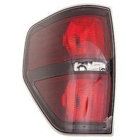 Fits 09-14  F150 Tail Lamp / Light Left Driver W/ Black Trim