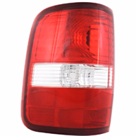 Fits 04-08 FD F150 Styleside Tail Lamp / Light Left Driver W/ Clear Lens