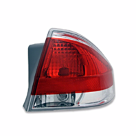 Fits 08-11  Focus Tail Lamp / Light Right Passenger With Chrome Trim