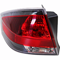 Fits 08-11 FD FOCUS Tail Lamp / Light Left Driver With Black Trim
