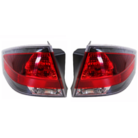 Fits 08-11 FD FOCUS Tail Lamp / Light Right & Left Set With Black Trim