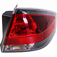 Fits 08-11 FD FOCUS Tail Lamp / Light Right Passenger With Black Trim