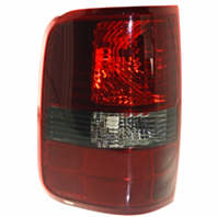 Fits 04-08 FD F150 Styleside Tail Lamp / Light  W/ Smoked Lens Left Driver