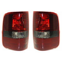 Fits 04-08 FD F150 Styleside Tail Lamp / Light  W/ Smoked Lens Right & Left Set