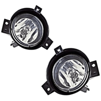 01-03 Ford Ranger Left & Right Fog Lamp Assemblies w/bracket (pair)