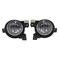 Fits 02-05 Mercury Mountaineer Left & Right Fog Light Assemblies - Set