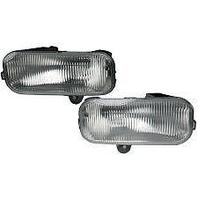 Fits 99-00 Ford Expedition Left & Right Fog Lamp Units without brackets (pair)