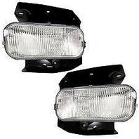Fits 99-03 Ford F150 (except Harley Davidson) L & R Fog Lamp w/bracket (pair)