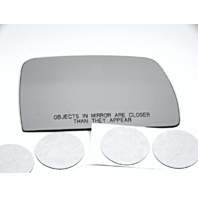 Fits 00-06 BMW X5 Right Pass Replacement Mirror Glass Lens Clear w/Adhesive USA Direct Fit Over Option for Auto Dimming Type Mirrors