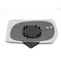 Fits 07-10 F150, 06-08 Linc Mark LT Heated Right Pass Mirror Glass w/Rear Holder