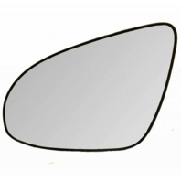 Left Driver Side Heated Mirror Glass w/ Rear Backing Plate for 12-17 Toy Camry