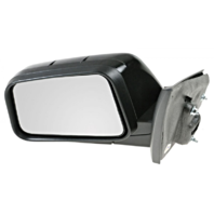 Fits 08-10  Edge Left Driver Mirror Power Manual Folding Non-Painted