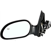Fits 00-07 Taurus 00-05 Sable Left Driver Mirror Power W/Heat NoFold/Puddle Lamp