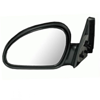 Fits 98-03 Ford Escort ZX2 Left Driver Mirror Manual Textured Black